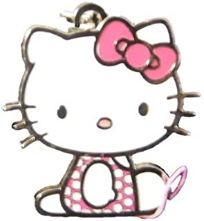75286f0222 Genuine Sanrio Hello Kitty  Pink Graphic Traffic  Phone Bag Purse Charm