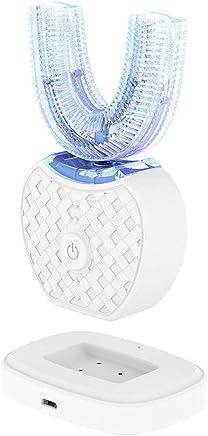 U型電動歯ブラシ 360°オールラウンドクリーニングホワイトニングマウスクリーナー充電式白