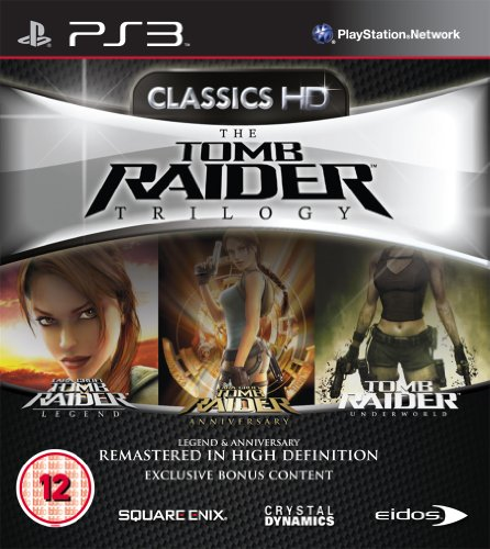 Tomb Raider - Trilogy (PS3) [Importación inglesa]