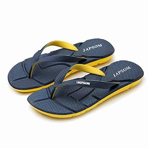 U/A Infradito da Spiaggia da Uomo Scarpe da Spiaggia Estive da Uomo Pantofole da Casa da Massaggio con Suola Morbida Sandali da Uomo Casual di Grandi Dimensioni Scarpe da Esterno Pigre