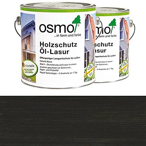 Osmo Holzschutz Öl-Lasur Ebenholz (712) 2,5 Liter