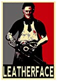 Poster Texas Chainsaw Massacre - Propaganda Horror -