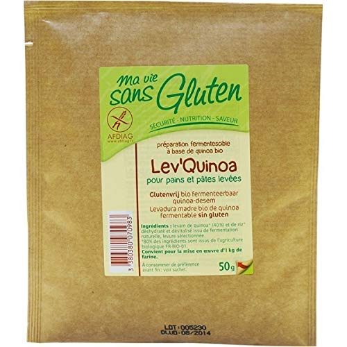 Ma Vie Sans luten Lev'Quinoa 50 g 1 Unité