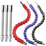 Flexible Drill Bit Extension Kits, DaKuan Fabulous 6 Pcs...