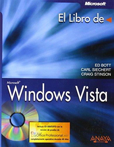 Libro de windows vista, el (+CD)