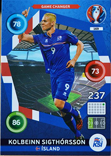 carte PANINI EURO 2016 #169 Kolbeinn Sigthorsson