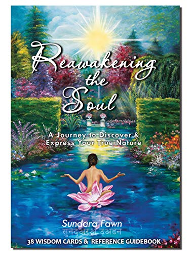 Reawakening the Soul Wisdom Oracle Cards - Spirit Animal Oracle Deck & Chakra Guidebook / Best Universe Intention Decks Energy Card Set With Art /Also used for Meditation as Tarot Cards and Book Sets