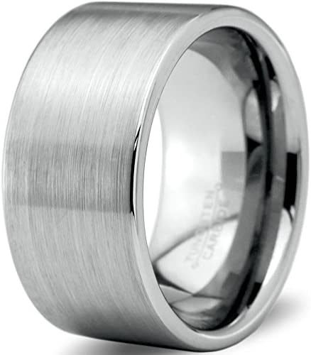 Charming Jewelers Tungsten Wedding Band Men for Women Animer and El Paso Mall price revision 12mm Ring
