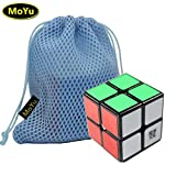 Moyu New WeiPo Cube Speed Puzzle 2x2x2 Magic Cube Puzzle Cube Noir + Un Sac
