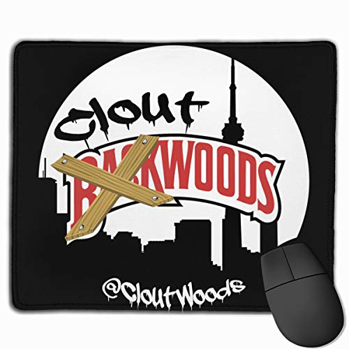 Backwoods Mouse Pad with Stitched Edge, Premium-Textured Mouse Mat 25x30cm