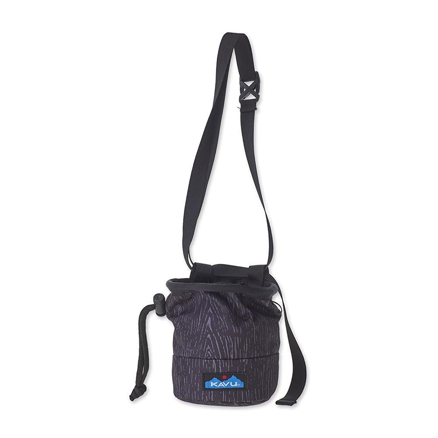 KAVU Peak Seeker Rock Climbing Chalk Bag with Belt and Cord-Lock Cinch