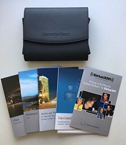 2010 2011 2012 Mercedes Benz S550 S600 AMG Owners Manual Operators Books Set S-CLASS W221