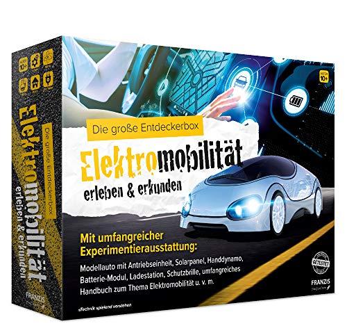 FRANZIS young Explorer Die große Entdeckerbox Elektromobilität erleben & erkunden   mit umfangreicher Experimentierausstattung   Ab 10 Jahren