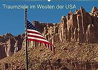 Traumlandschaften im Westen der USA (Wandkalender 2022 DIN A2 quer): Reiseziele USA - der Highway Nr. 12 (Monatskalender, 14 Seiten )