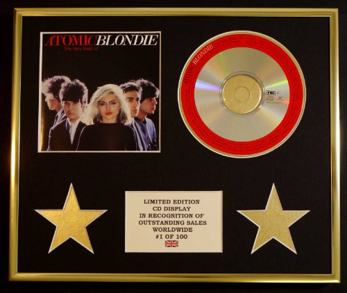 BLONDIE/CD DISPLAY/LIMITED EDITION/COA/THE VERY BEST OF, ATOMIC