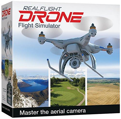 Great Planes RealFlight Drone RC Flight Simulator with Interlink Elite Controller