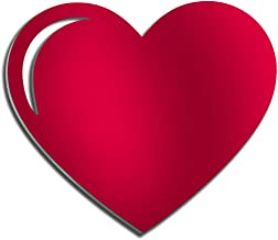 4ArtWorks - Heart 3D Wall Art - Ready to Hang Acrylic Wall Decorations for Bedrooms, Dorms, Living Rooms & More - Hand Assembled & Made in The USA - Modern Love Sculpture (12