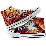 RedJade Son Goku Kakarotto Super Saiyan Dragon Ball Vegeta Sneaker Canvas Shoes 43