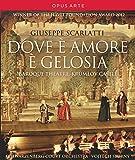 Giuseppe Scarlatti: Dove è Amore è gelosia (Baroque Theatre Krumlov Castle)[Blu-ray] [Alemania]
