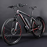 Electric mountain bike, 26-inch hybrid bicycle / (36V10Ah) 24 speed 5 speed power