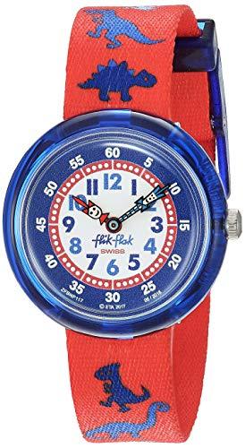 FlikFlak Jungen Analog Quarz Uhr mit Stoff Armband FBNP117