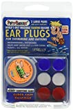 3-pair Pack of PUTTY BUDDIES Floating Formula Soft Silicone Ear Plugs for Swimming/ Bathing by Putty Buddies