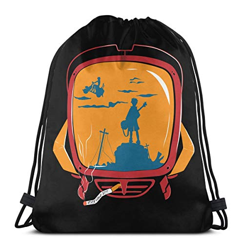 Drawstring Bag Sport Gym Sack Party Favor Bags Wrapping Gift Bag Drawstring Backpacks Storage Goodie Bags Cinch Bag - FLCL Never Knows Best