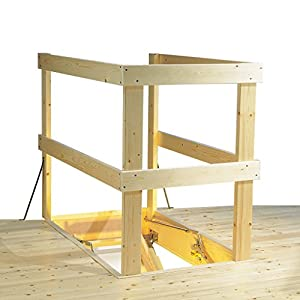 Laddaway 1510-011 - Balaustrada de escalera (madera)