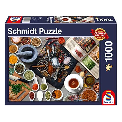 Schmidt Spiele 58948 Gewürze, 1000 Teile Puzzle, bunt