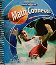 Glencoe McGraw-Hill - Math Connects: Concepts, Skills, and Problem Solving - Course 2 - Teacher Edition - Volume 1