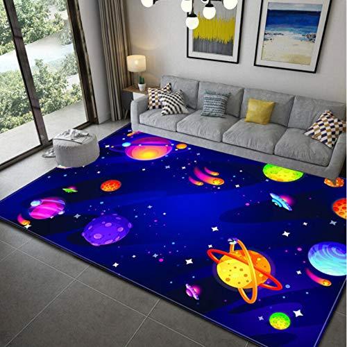Haiqings Dragon Space Blue Rugs Area Rugs Carpet Floor Carpet Bedroom Doormat Non-Slip Mat Living Room 180x280cm