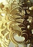 Kalender 2018 - GOLDEN ORNAMENT: Wochenkalender - DIN A5 - Eine Woche pro Doppelseite