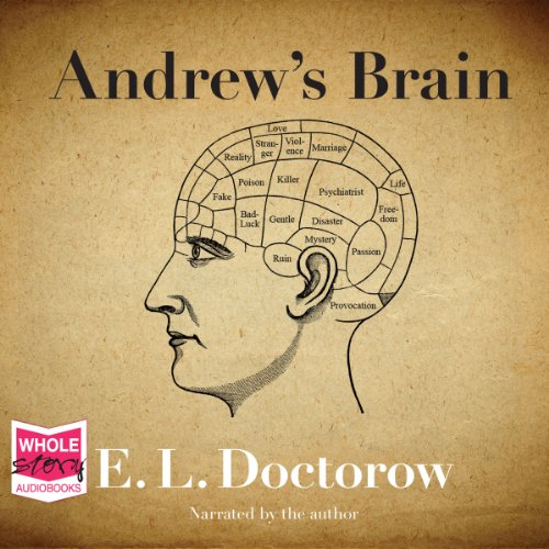 Andrew's Brain audiobook cover art