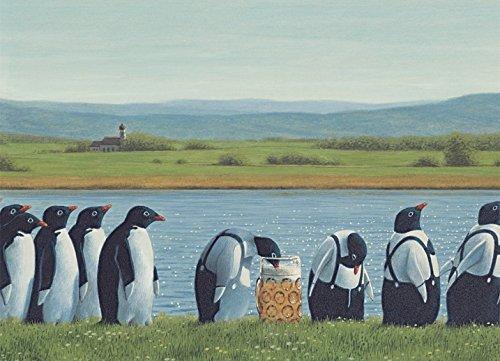 Postkarte A6 • 12899 ''Ausschank'' von Inkognito • Künstler: Quint Buchholz • Fantastik
