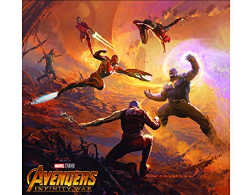 Marvel's Avengers: Infinity War - The Art Of The Movie (Marvel's Avengers: Infinity War - The Art of the Movie (2018), 1) (English Edition)