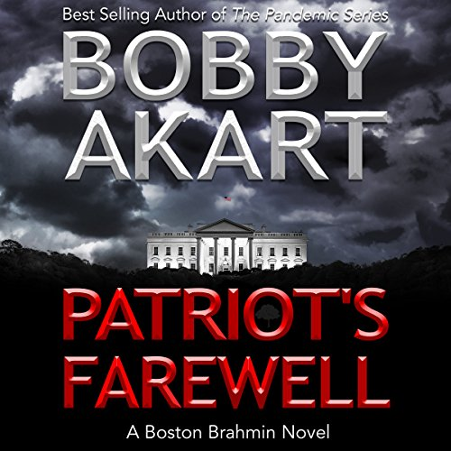 Patriot's Farewell audiobook cover art