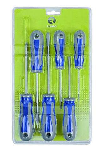 Irimo 459-6-B Destornilladores, 47x335x190, Set de 6 Piezas