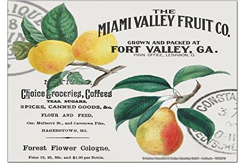 Kühlschrankmagnet Essen Restaurant Früchte Miami
