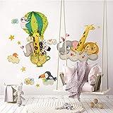 Vinilo infantil kina R00521 - Medidas 30x120 cm - Decoración de pared, Vinilos decorativos, Papel pintado