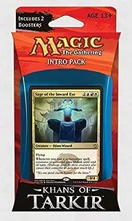 Magic: the Gathering: Khans of Tarkir - Intro Pack / Theme Deck: Sage of the Inward Eye (Alternate Art Premium Rare Promo)