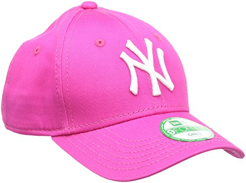 New Era Mädchen Baseball Cap Mütze MLB Basic 9 Forty Adjustable, Hot Pink/White, One Size,...
