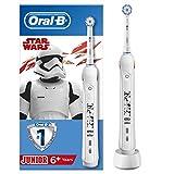 Oral-B Junior Star Wars Elektrische Zahnbürste mit visueller Andruckkontrolle, für Kinder ab 6 Jahren