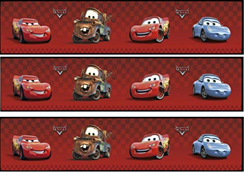 Fondant Tortenband Tortenbild Geburtstag Disney's Pixar Cars TB6
