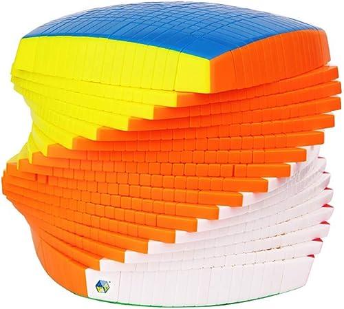 Dix-Septième-Comhommedez Le Jouet De Cube, Haut-Ordre Lisse Anti-POP17 Speed Cube 17X17x17