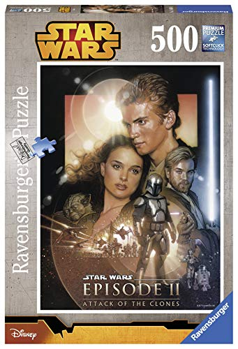 Ravensburger Puzzle 14666 - Star Wars - Angriff der Klonkrieger, 500-Teilig