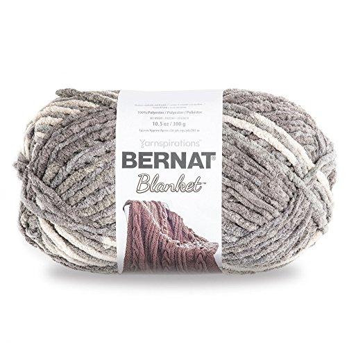 Bernat Blanket Yarn, Silver Steel