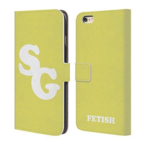 Head Case Designs Licenza Ufficiale Selena Gomez SG Arte Front Arte Chiave Cover in Pelle a Portafoglio Compatibile con Apple iPhone 6 Plus/iPhone 6s Plus