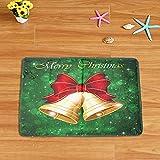 Tomatoa Teppich Christmas Schmutzfangmatte Fußmatte Bodenschutzmatte Fussmatte Fußabtreter Schmutzmatte Motiv