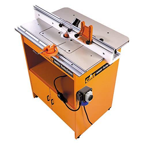 CMT Orange Tools 999.500.01–Tavolo da lavoro CMT Industrio per elettrofresatrice (Europa)