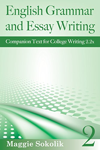 Book For Essay Writing In English